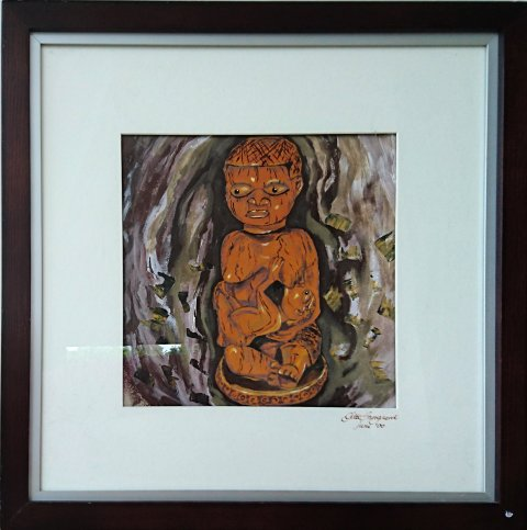 African wood Motherhood